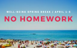 No Homework During Spring Break